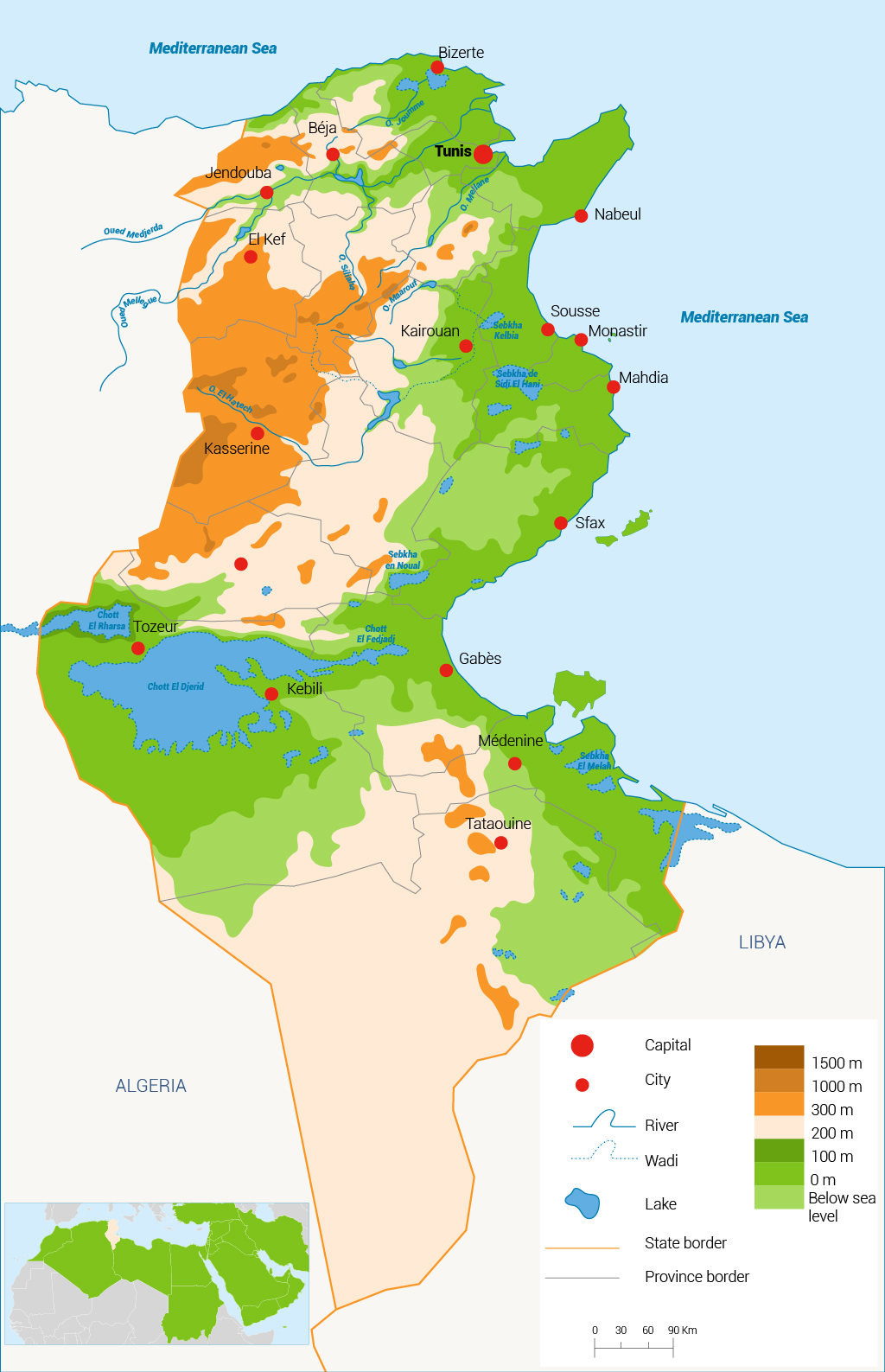 Water in Tunisia