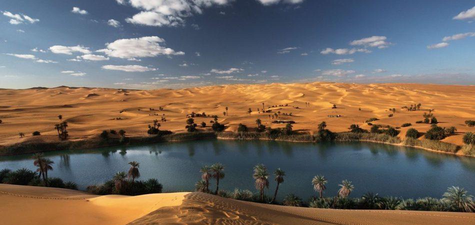 واحة قبر عون إدارة المياه في ليبيا