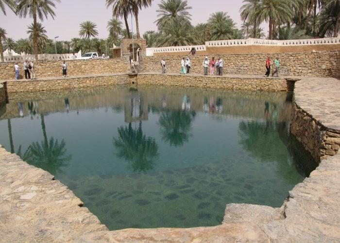 نبع عين الفرس الموارد المائية في ليبيا