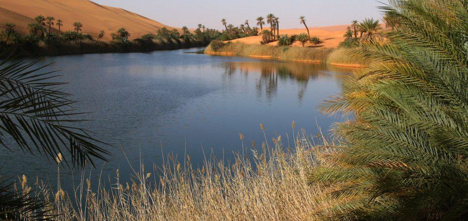 Libyan Sahara water quality in Libya
