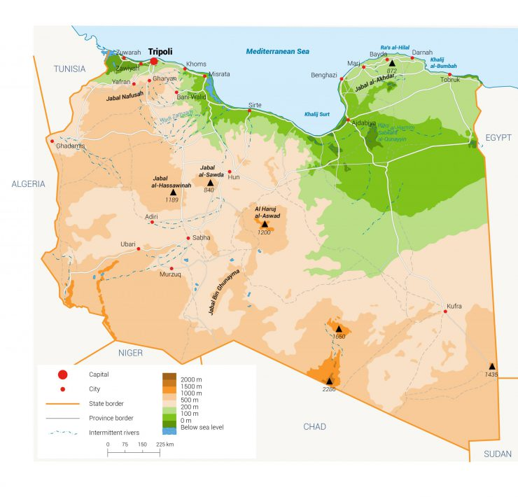 Libya water in Libya