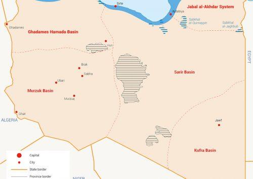 الموارد المائية في ليبيا