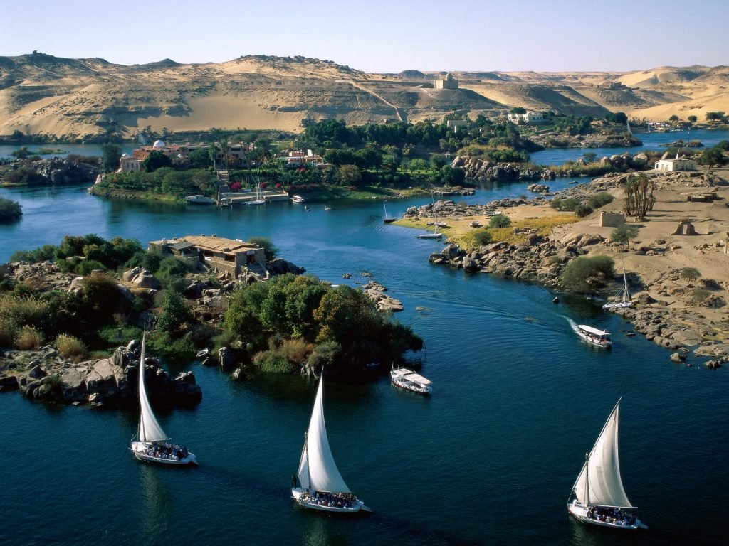 Blue nile river GERD