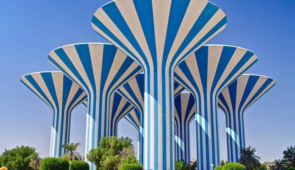 أبراج المياه الكويتية جودة المياه في الكويت