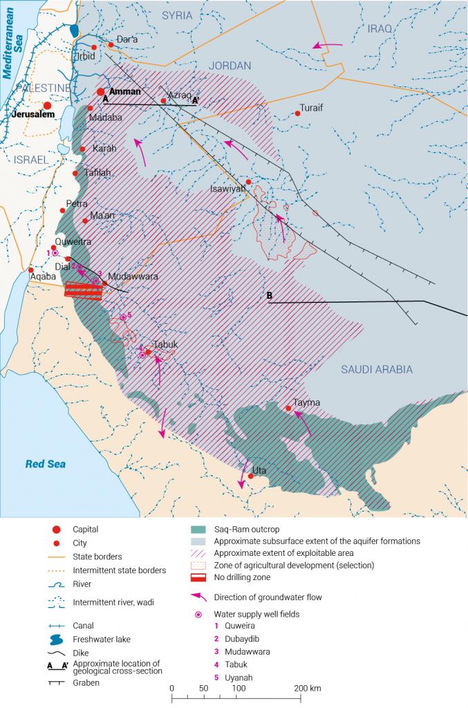 موارد المياه المشتركة في السعودية