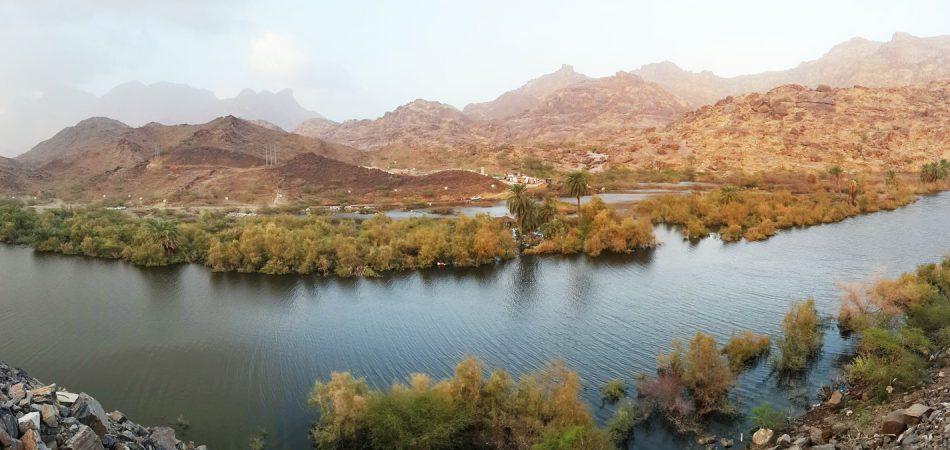 Water Challenges in KSA Nawan dam
