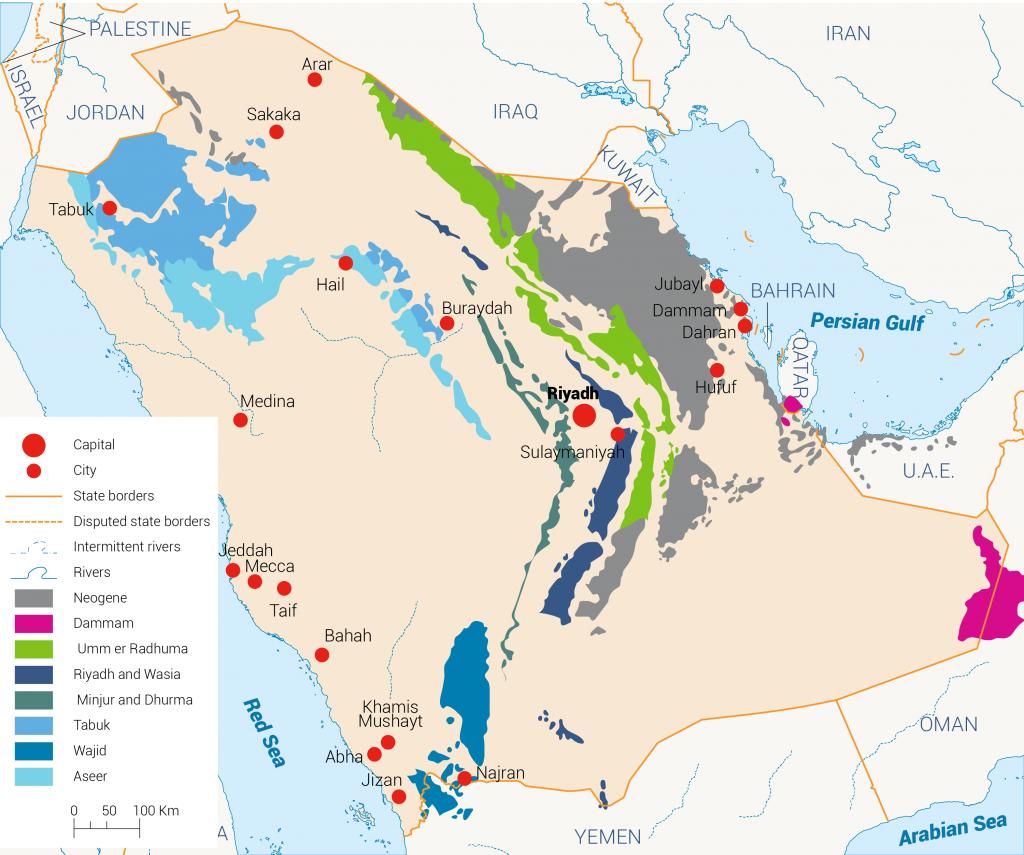 groundwater in KSA, Water Resources in KSA