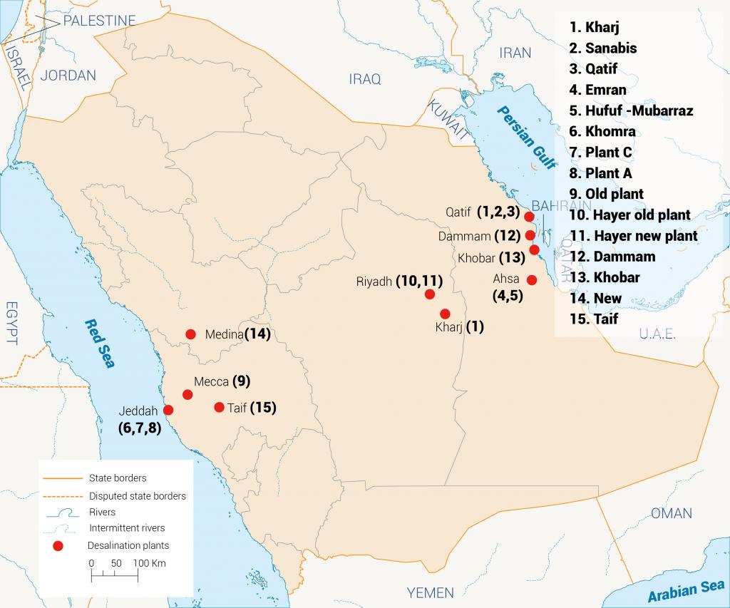 WWTPs in KSA, Water Infrastructure in KSA