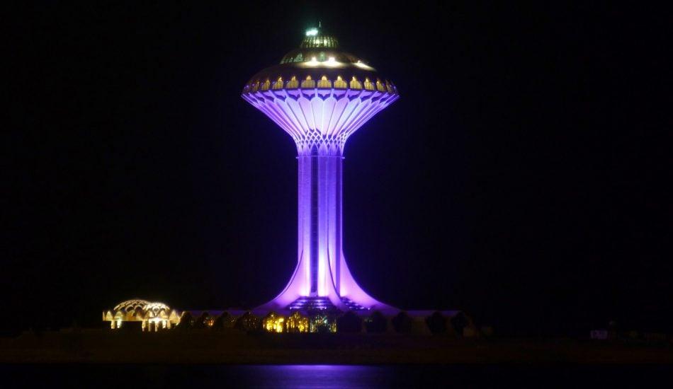 البرج الخبر، البُنية التحتية للمياه في السعودية