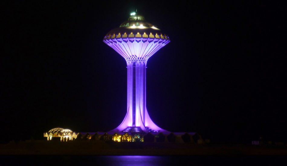 Al Khobar water tower Water Infrastructure in KSA