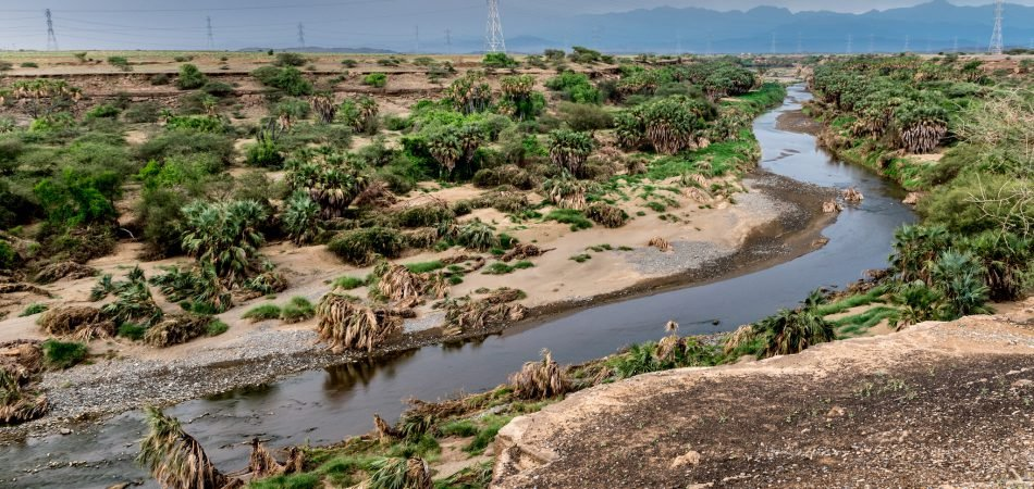 Sabya valley, KSA Water Management in KSA