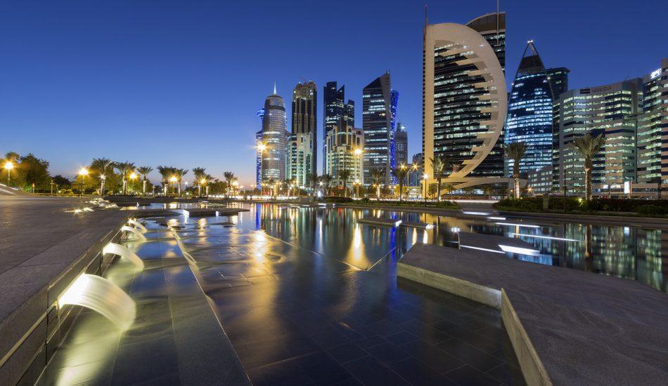 الدوحة قطر - البنية التحتية للمياه في قطر