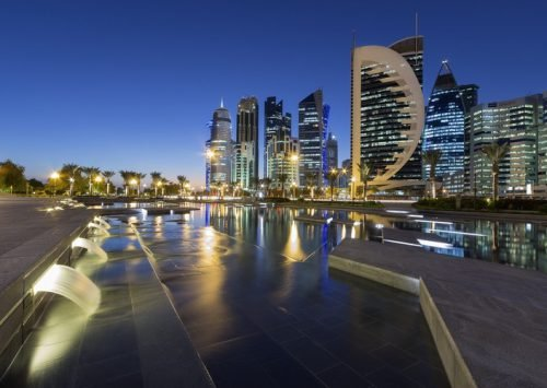 البُنية التحتية للمياه في قطر