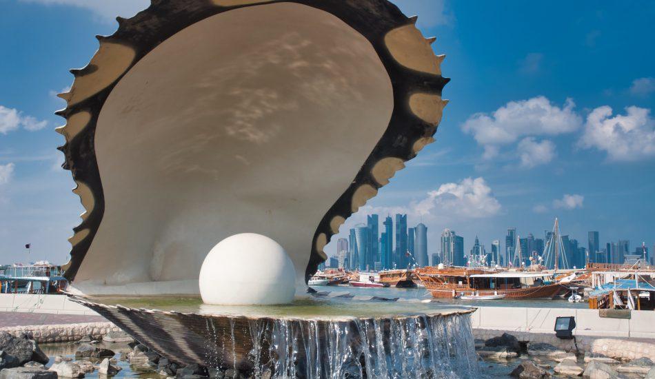 صب اللؤلؤة قطر - المياه المشتركة في قطر