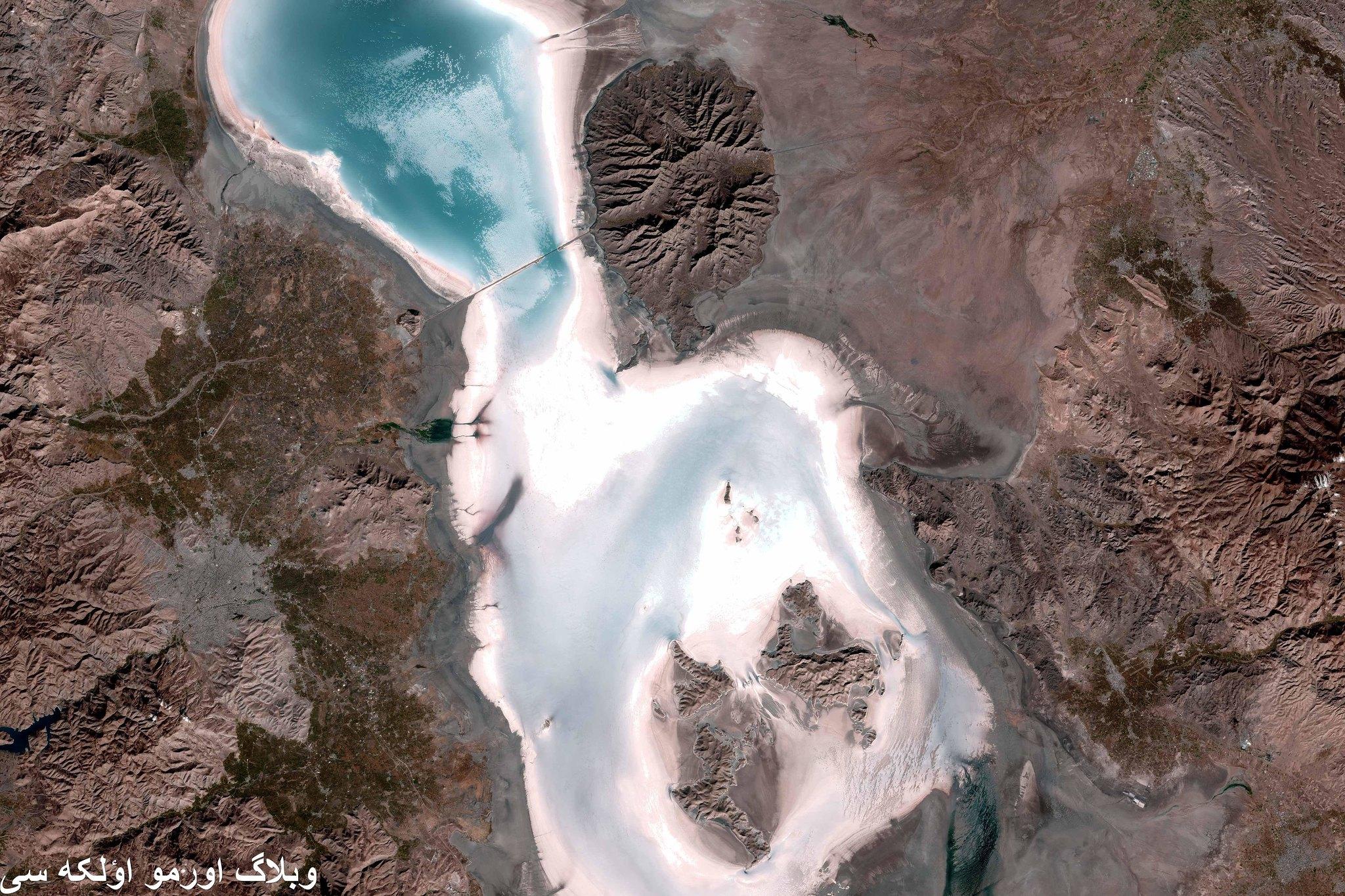 تحديات المياه في إيران