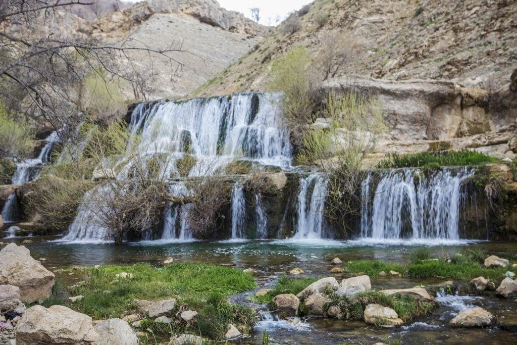 Gerit Waterfall, Iran - water quality in Iran